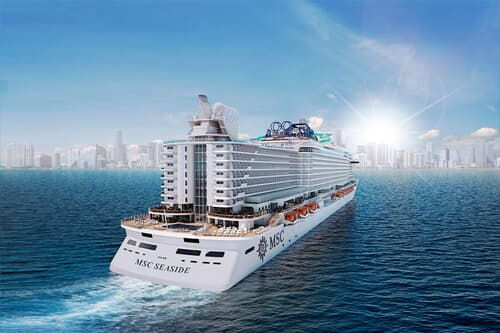 MSC Seaside Western Caribbean